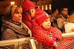 Česko zpívá koledy 11. 12. 2013 na prostějovském náměstí TGM