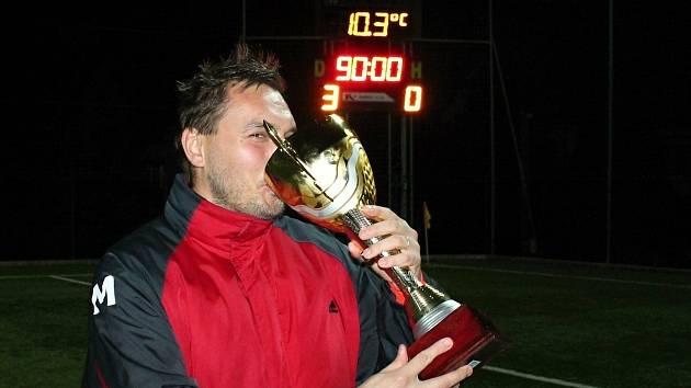 Trenér Konice Petr Ullmann.