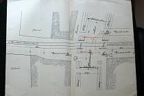 Dokumenty z 19. století věnující se problematice prostějovských železničních přejezdů