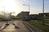 Řidička srazila v Prostějově chodce na přechodu pro chodce