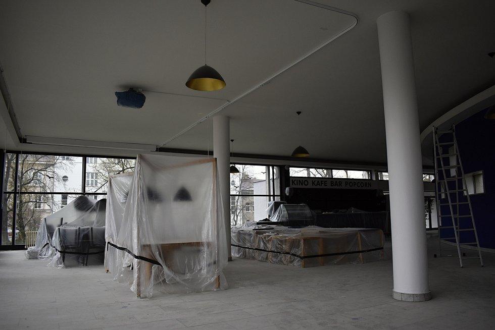 Rekonstrukce v prostějovském kině Metro 70 - 22. dubna 2021