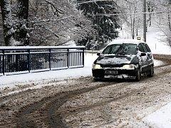 Sněhová nadílka na Plumlovsku
