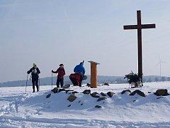 Na vyhlídce u kříže nad penzionem Lada. Ilustrační foto