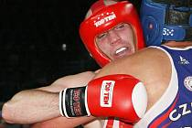 Boxer Petr Novotný