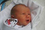Kristian Koutný, Prostějov, narozen 18. prosince, 3100 g, 49 cm