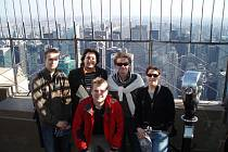 Létající rabín na turné v USA