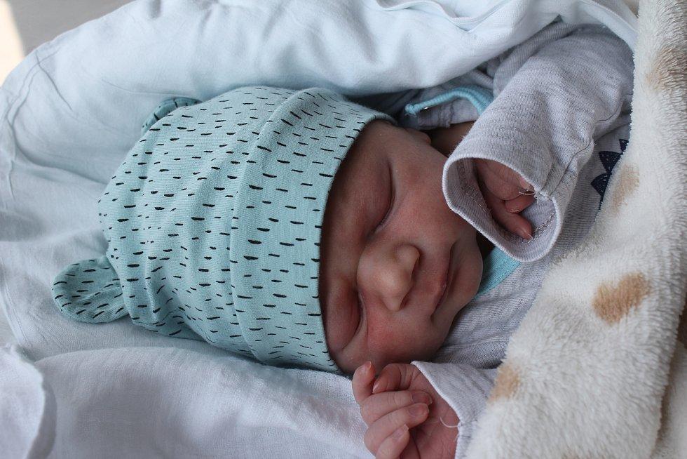 Sebastian Kristel, Mostkovice, narozen 29. července 2019 v Prostějově, míra 48 cm, váha 3000 g