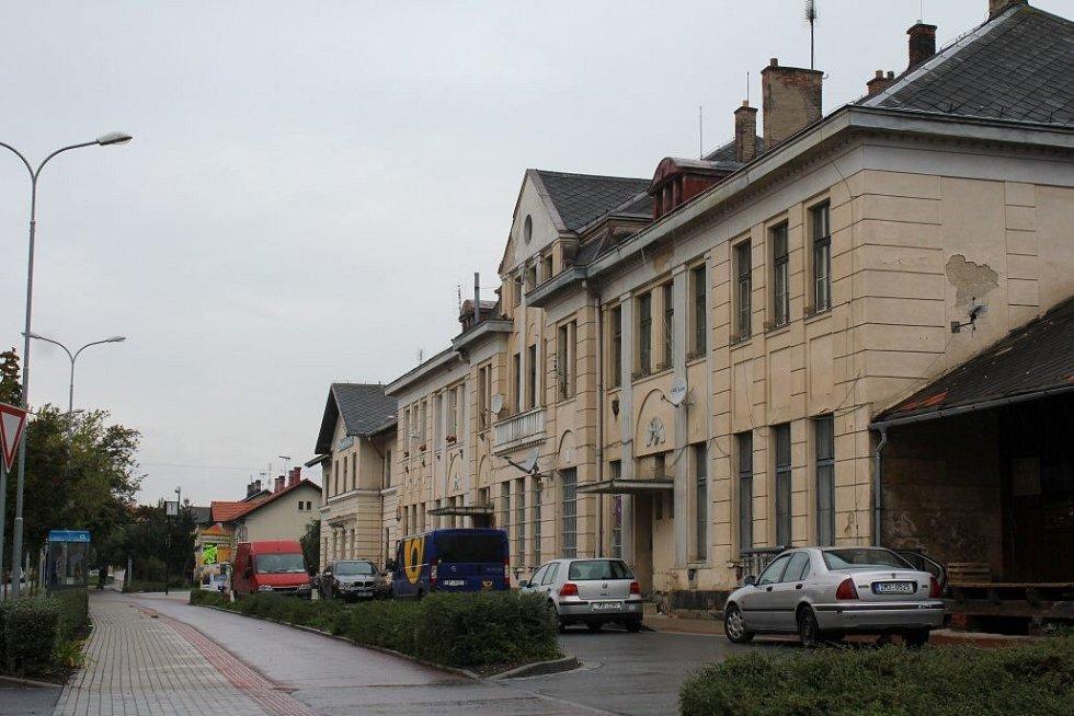 Místní nádraží v Prostějově
