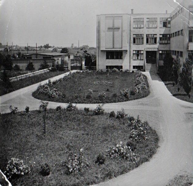 Domov řádových sester a ošetřovatelek vareálu staré nemocnice vProstějově - archivní snímek