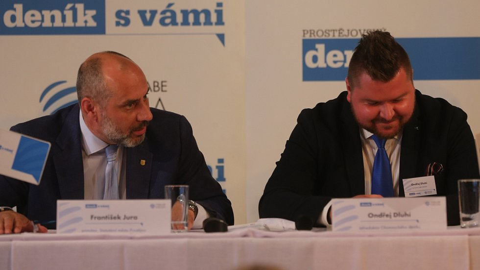 Debata Deníku s prostějovským primátorem
