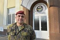 Velitel 102. průzkumného praporu v Prostějov, Pplk. Pavel Hriník