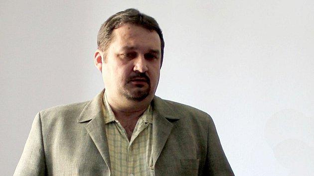 Ředitel Muzea a galerie Prostějov Daniel Zádrapa