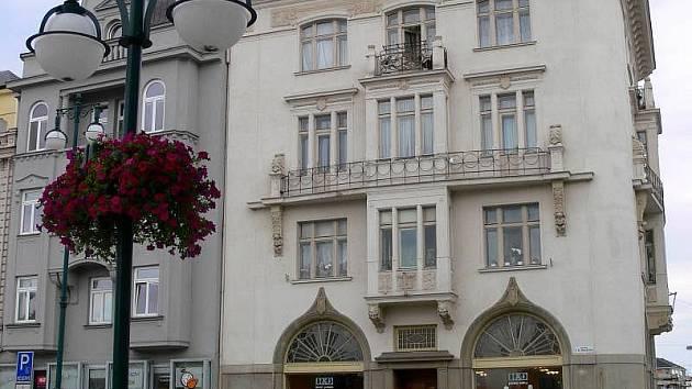 Budova Živnobanky v Prostějově