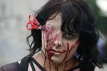 Zombie walk 2015 v Prostějově