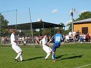 Dub nad Moravou byl jedním z týmů, který dostal Jesenec celkově osmkrát na kolena