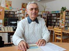 Antonín Ošťádal - autor knihy pověstí a povídek Krajinou ječných klasů