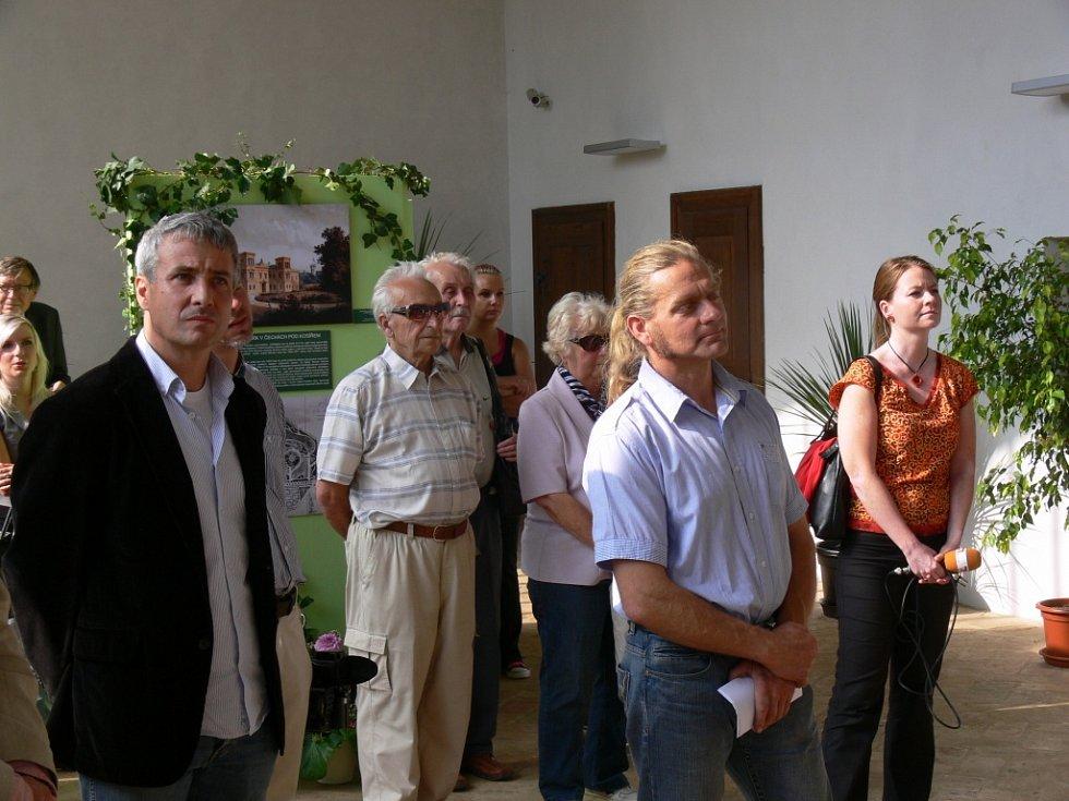 Slavnostní otevření zrekonstruované zámecké oranžerie v Čechách pod Kosířem