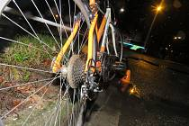 Sražení cyklistky v Prostějově - 12. listopadu 2019