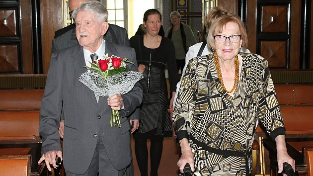 Manželé Novákovi jsou spolu 75 let