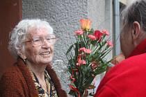 Paní Růžena Soldánová z Prostějova slaví 100 let
