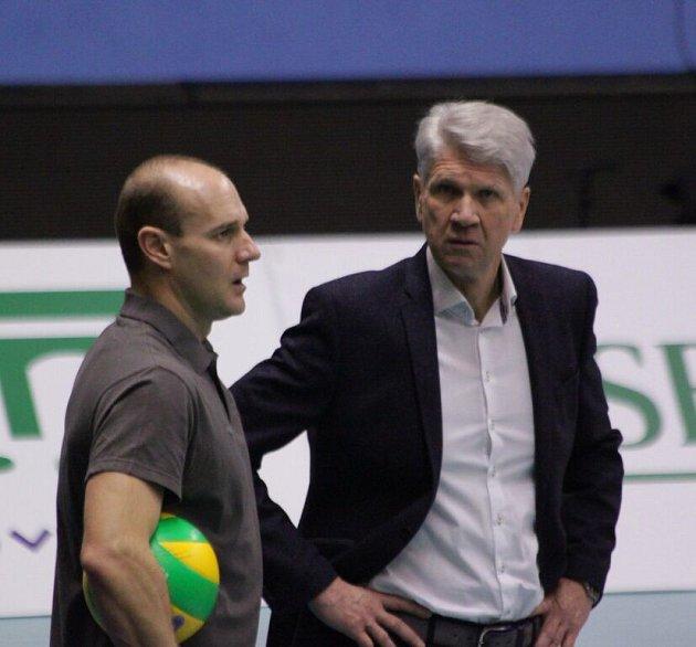 Lubomir Petráš a Miroslav Čada