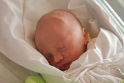 Jakub Soldán, Krumsín, narozen 26. října v Prostějově, míra 50 cm, váha 2850 g