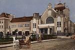 Archivní fotografie Národního domu v Prostějově
