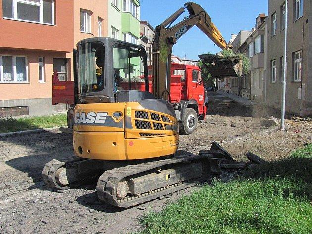 Rekonstrukce Budovcovy ulice