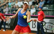 tenis FED CUP ČR - Kanada Vondroušová - Fernandez