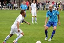 Určice (v modrém) proti Havířovu