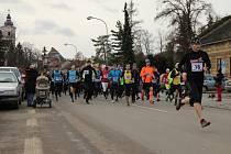 Zimní běh přes Kosíř 2015