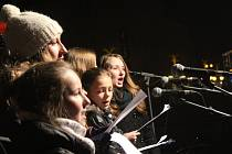 Česko zpívalo koledy v Prostějově - 2015
