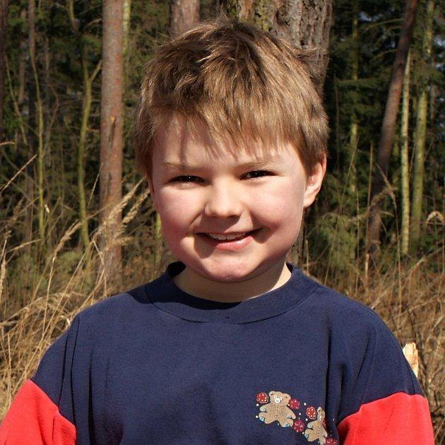 Karlík Rozehnal, 8let, Žárovice