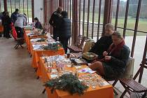 Předvánoční zámecké kumštování v Čechách pod Kosířem