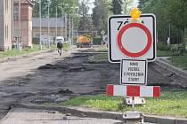 Rekonstrukce druhé části Tylovy ulice
