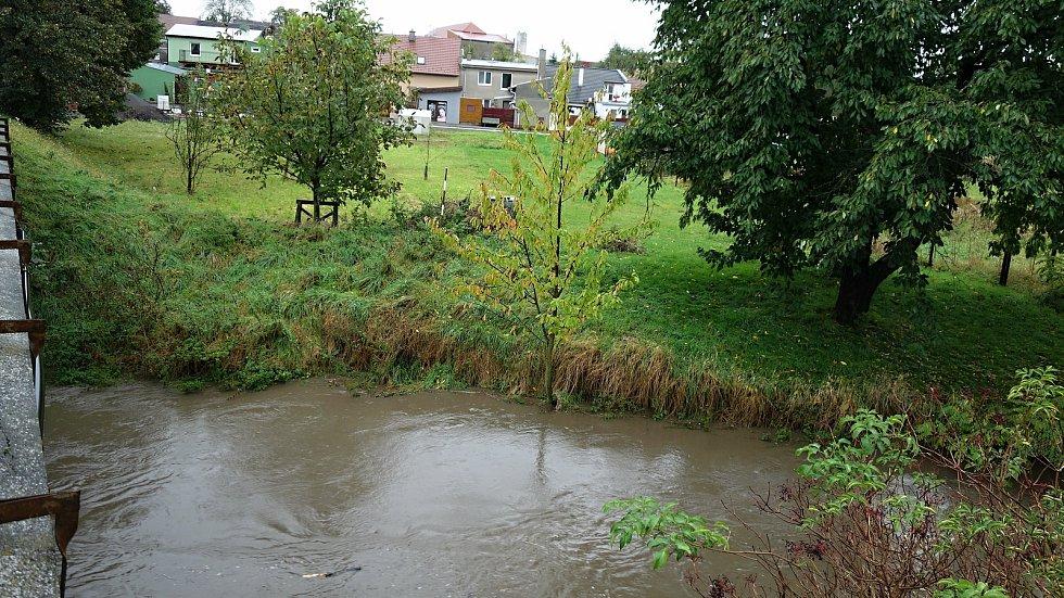 Velká Haná ve Vrchoslavicích na II. stupni, 14. října  2020 ráno