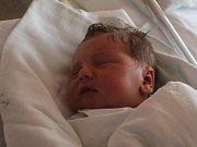 Šimon Pajchl, Prostějov, narozen 14. dubna, 51 cm, 3650 g