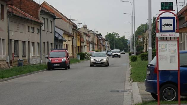 Západní ulice v Prostějově