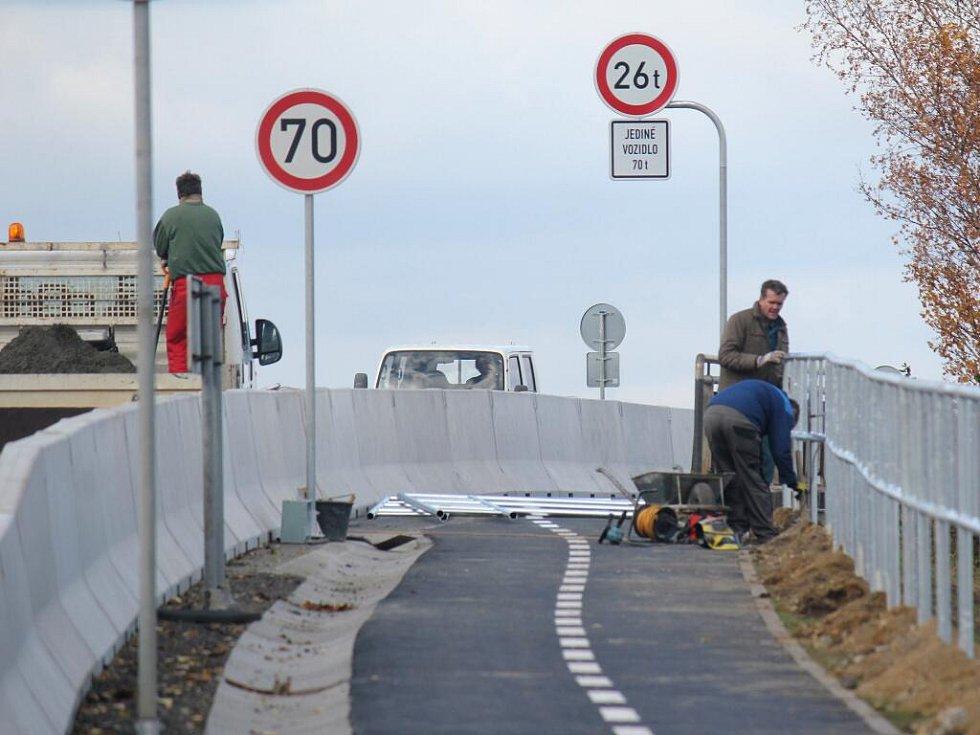 Cyklostezka mezi Prostějovem a Žešovem je prakticky dokončená
