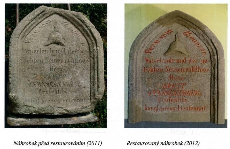 Nové památné místo s náhrobkem pruského vojáka vznikne v parčíku před kostelem svatého Jana Nepomuckého v Prostějově