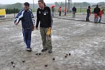 Pétanquový turnaj v Krumsíně