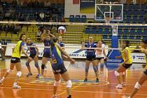 Volejbalistky VK Prostějov své první domácí vystoupení v letošní sezoně zvládly bez větších problémů.