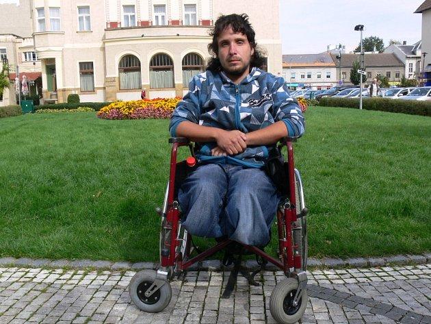 Vozíčkář Michal