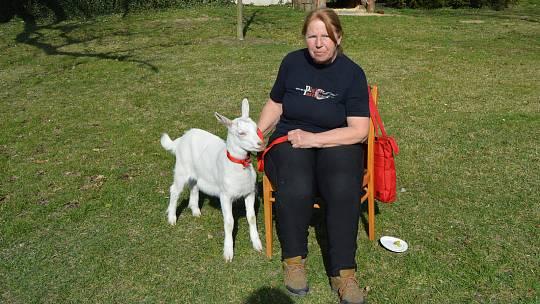 Jarmila Zelenská, majitelka kozí farmy Rozinka