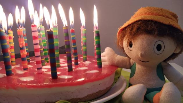 Cipísek slaví 22. narozeniny