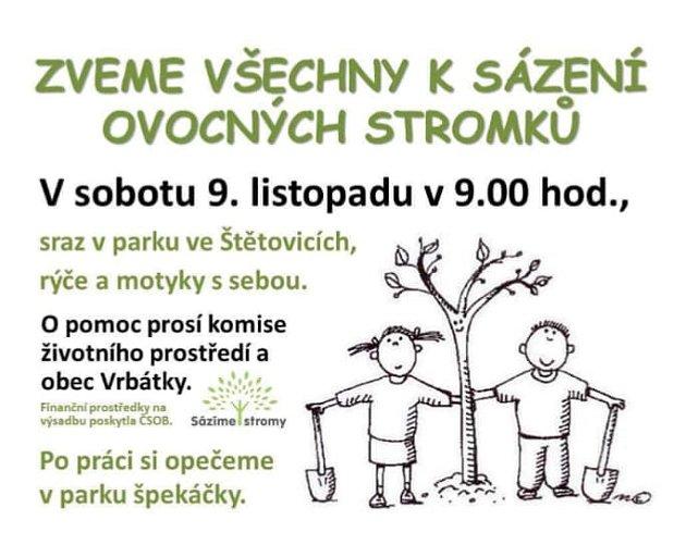 Plakátek na akci