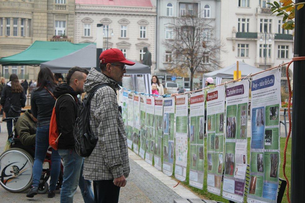 Den stromů na prostějovské náměstí T. G. Masaryka 2019
