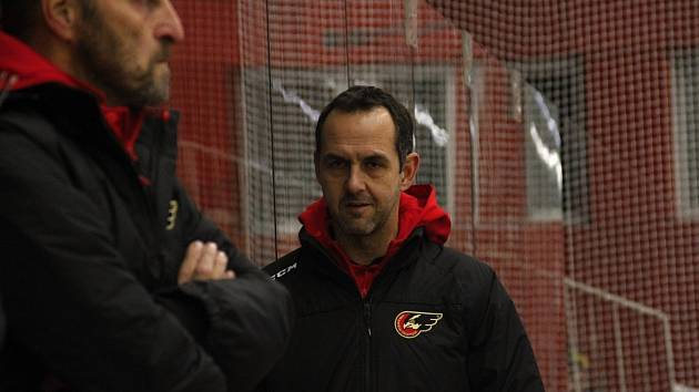 Trenér Jiří Vykoukal. Ilustrační foto