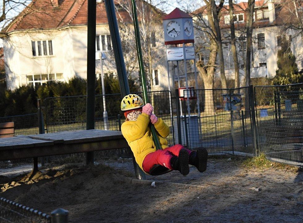 Kolářovy sady v Prostějově - 6. března 2021