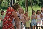 Zahradní slavnost - rozlučka s předškoláky ve Smržicích